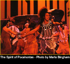 The Spirit of Pocahontas - Photo by Marla Bingham